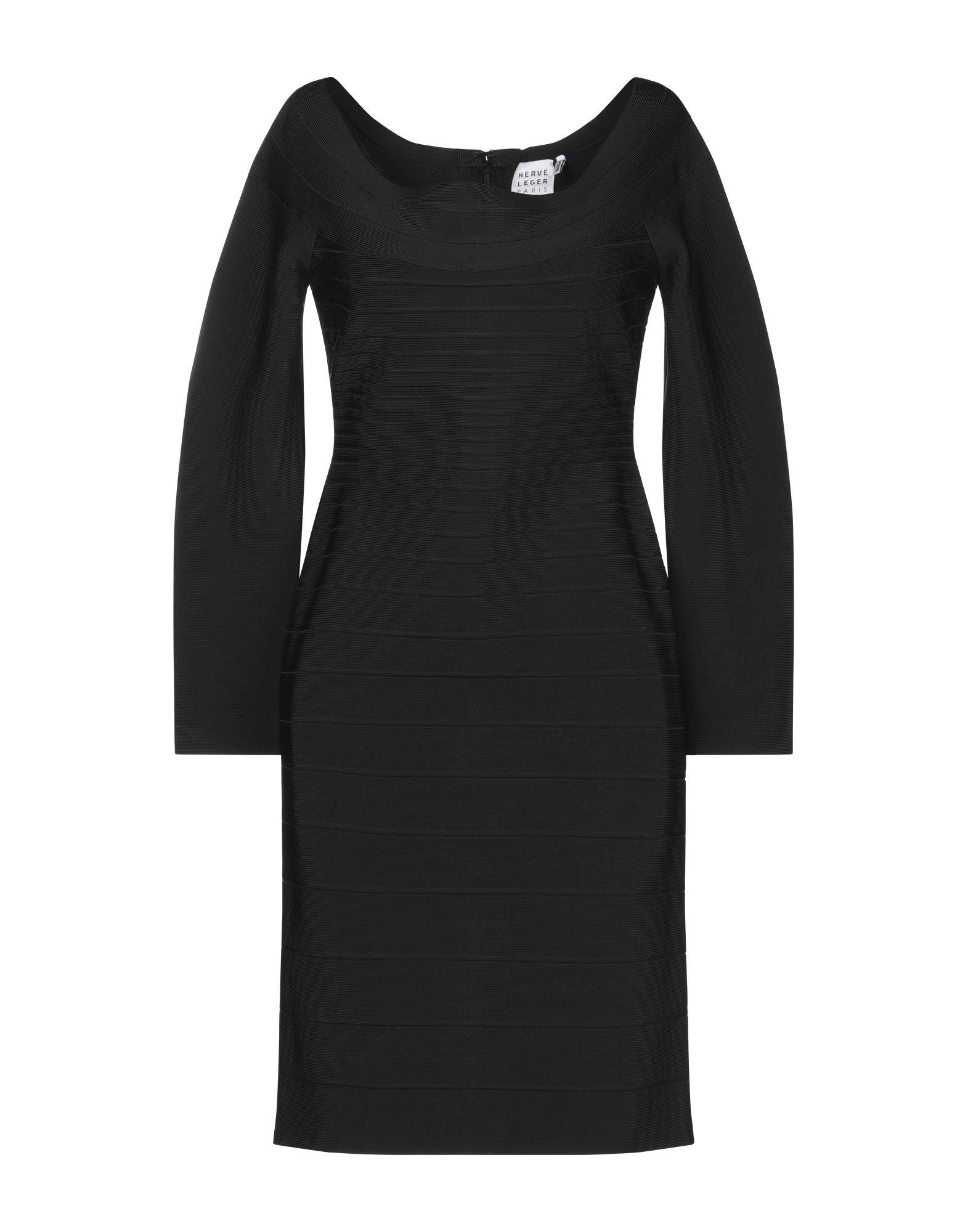 HERVÉ LÉGER Платье до колена