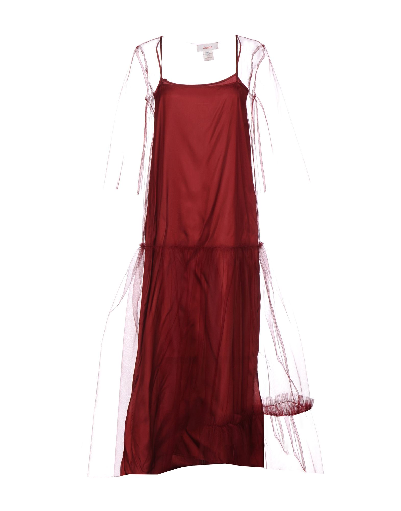JUCCA Длинное платье anais gillian комбинация