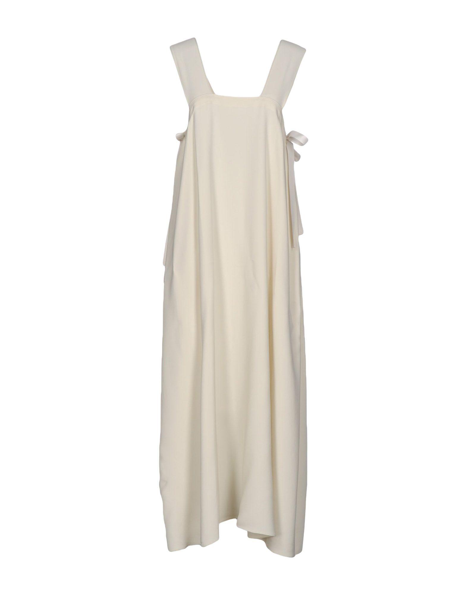 HELMUT LANG Платье длиной 3/4 lisa corti платье длиной 3 4