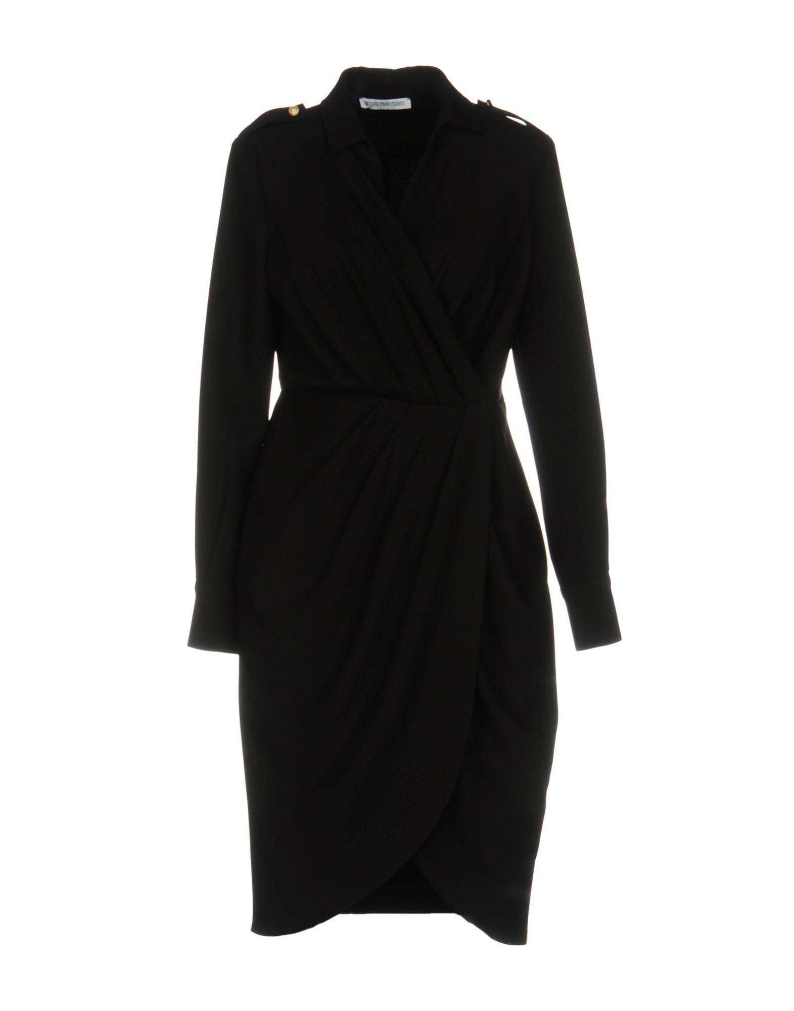 ANGELA MELE MILANO Платье до колена цена 2017