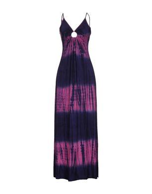 MICHELLE JONAS Damen Langes Kleid Farbe Violett Größe 3 Sale Angebote Terpe