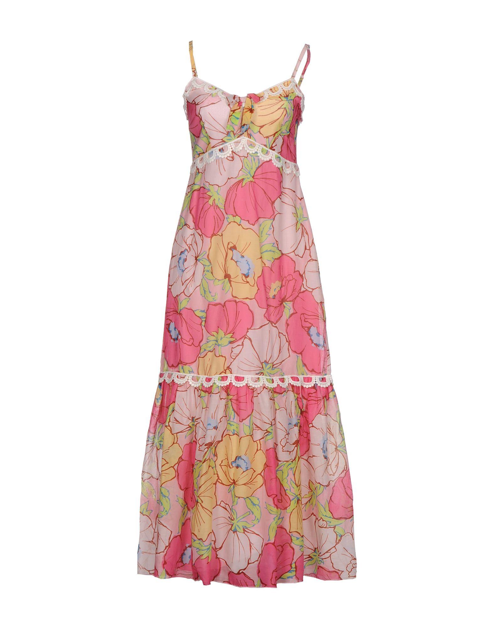 Фото - MOSCHINO CHEAP AND CHIC Длинное платье monnalisa chic платье