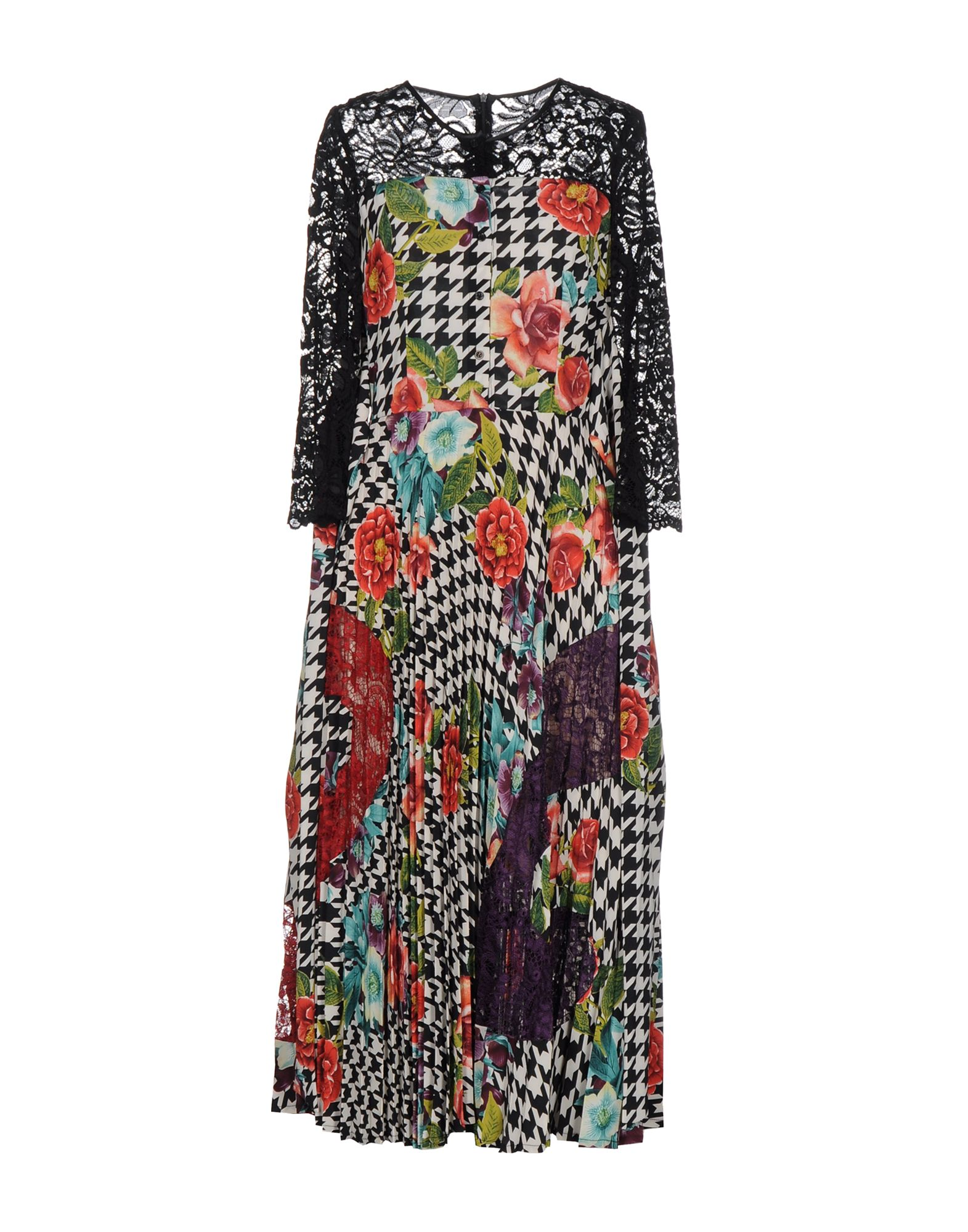 TENAX Платье длиной 3/4 lisa corti платье длиной 3 4