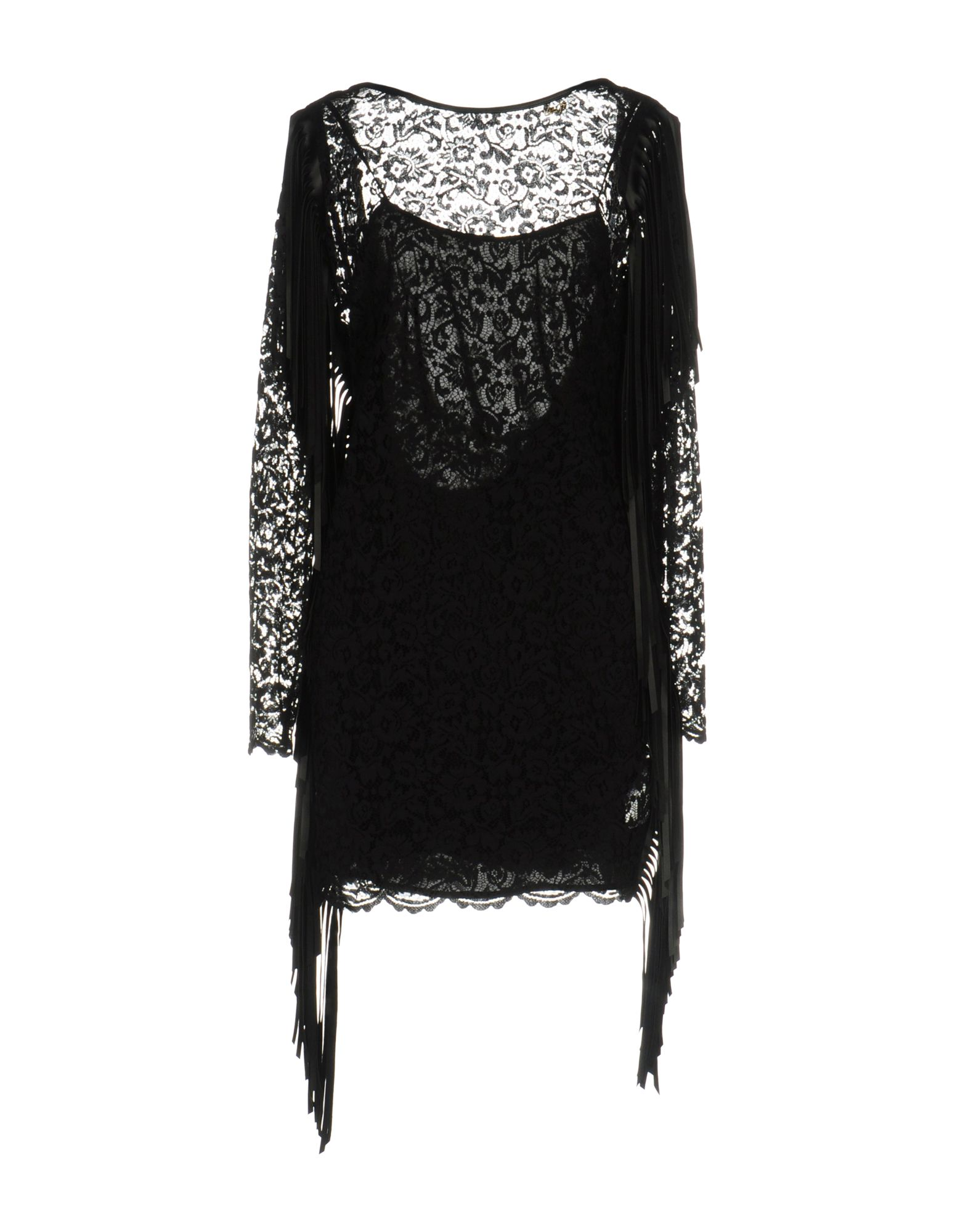 LES COCKTAILS DE LIU •JO Damen Kurzes Kleid Farbe Schwarz Größe 6