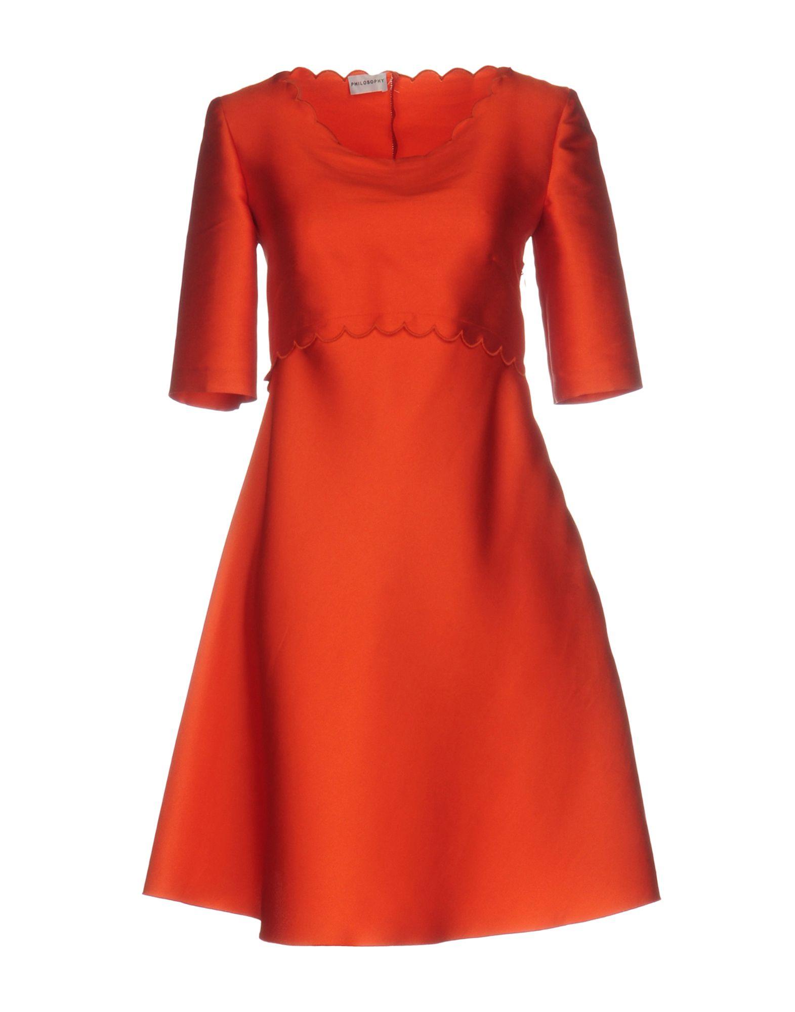 PHILOSOPHY di ALBERTA FERRETTI Короткое платье платье af philosophy di a ferretti платья и сарафаны приталенные