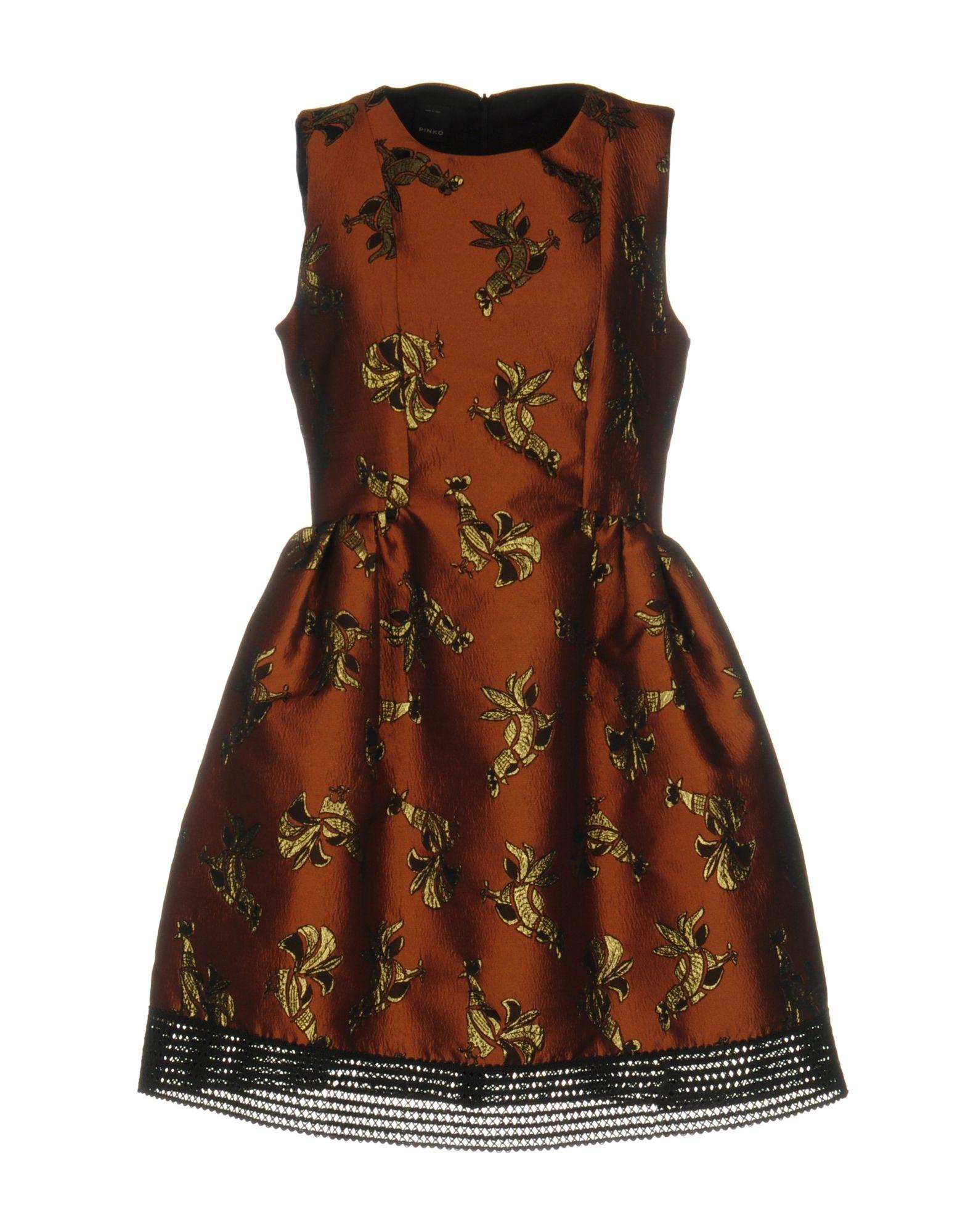 PINKO Короткое платье lisa corti короткое платье