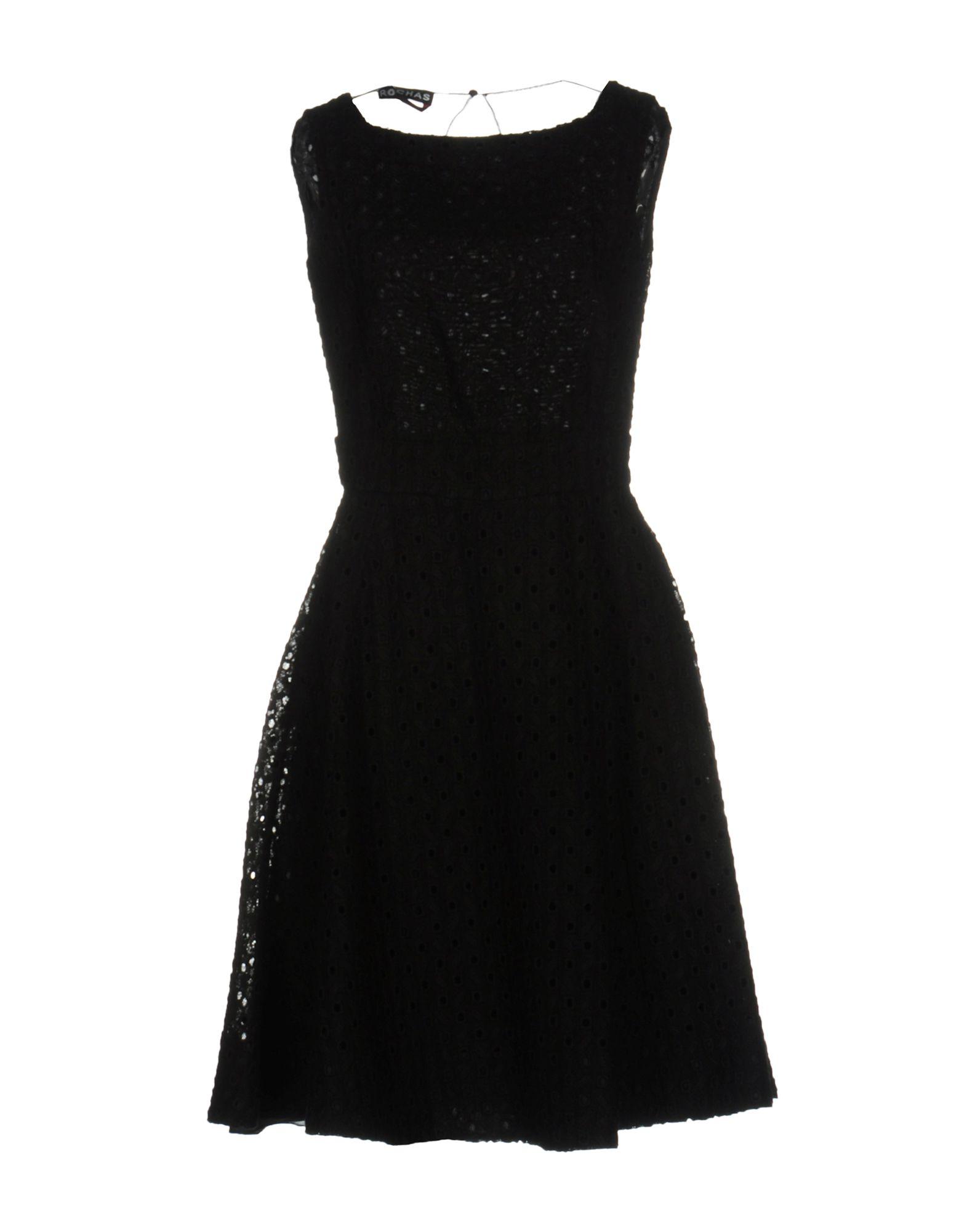 ROCHAS Платье до колена цена и фото