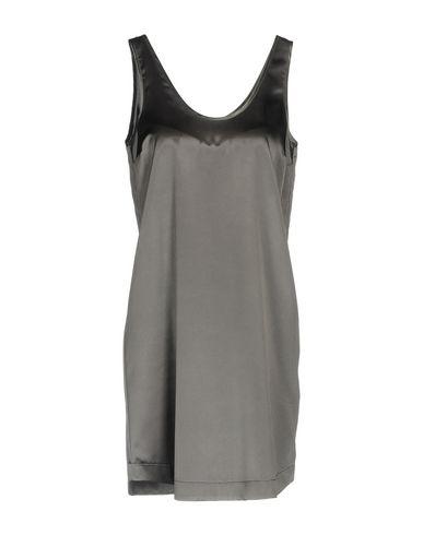 Купить Женское короткое платье  серого цвета
