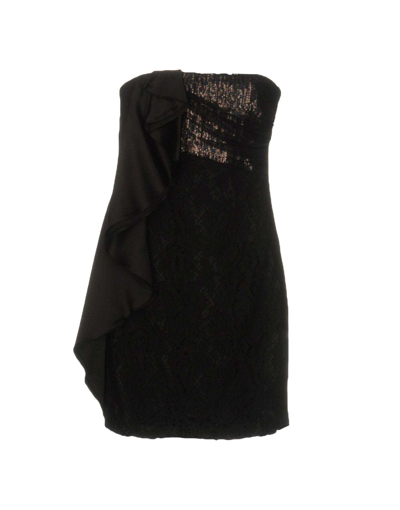 PINKO Короткое платье pinko black короткое платье