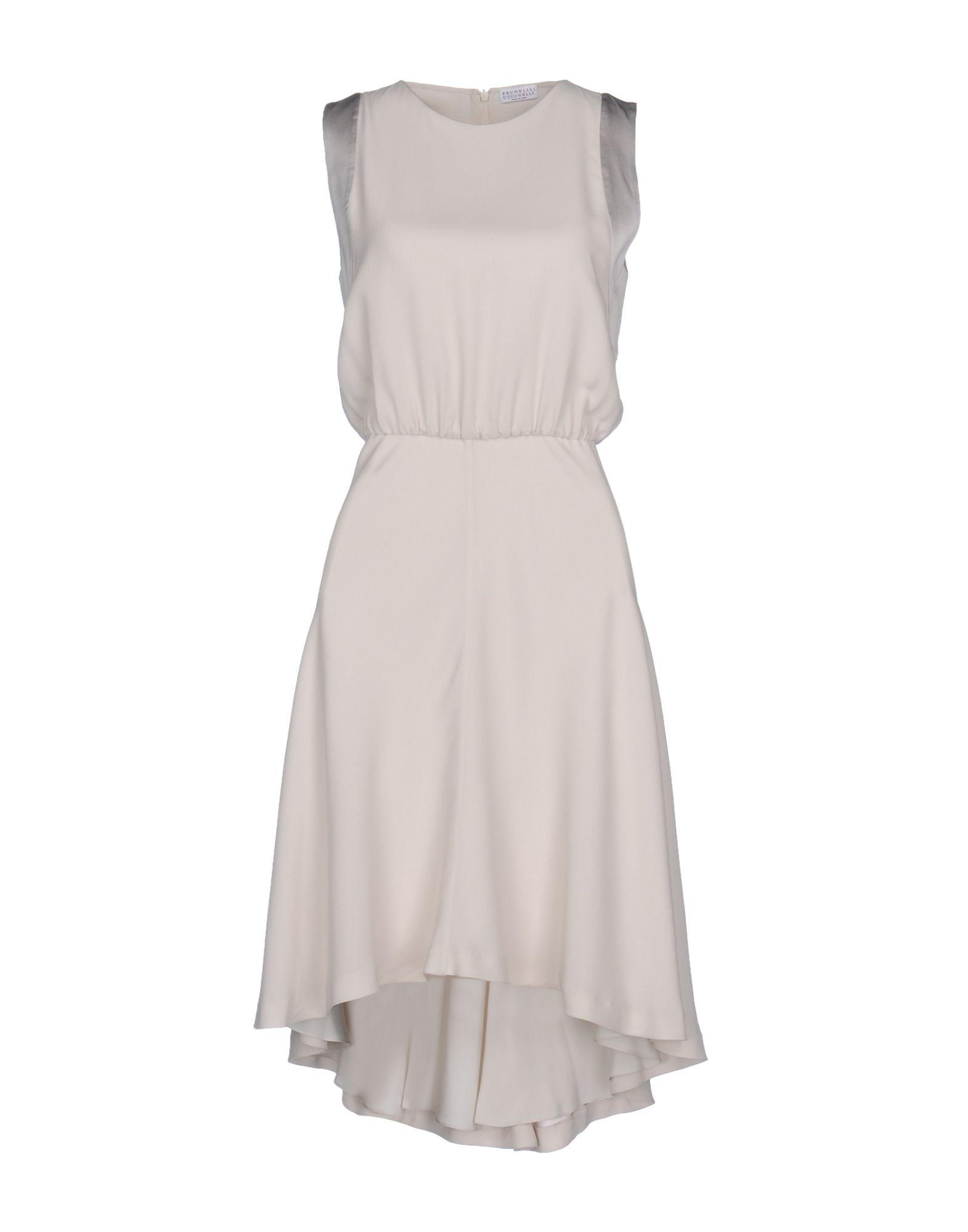 ФОТО brunello cucinelli короткое платье