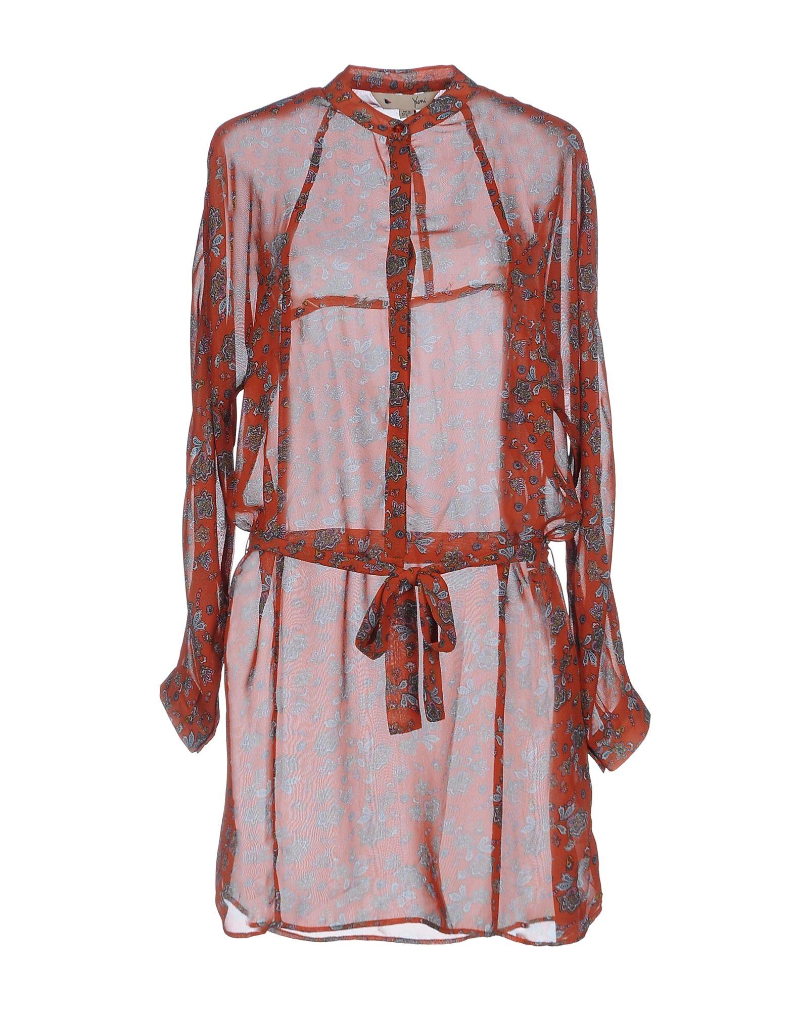 YUMI' Короткое платье overall yumi overall