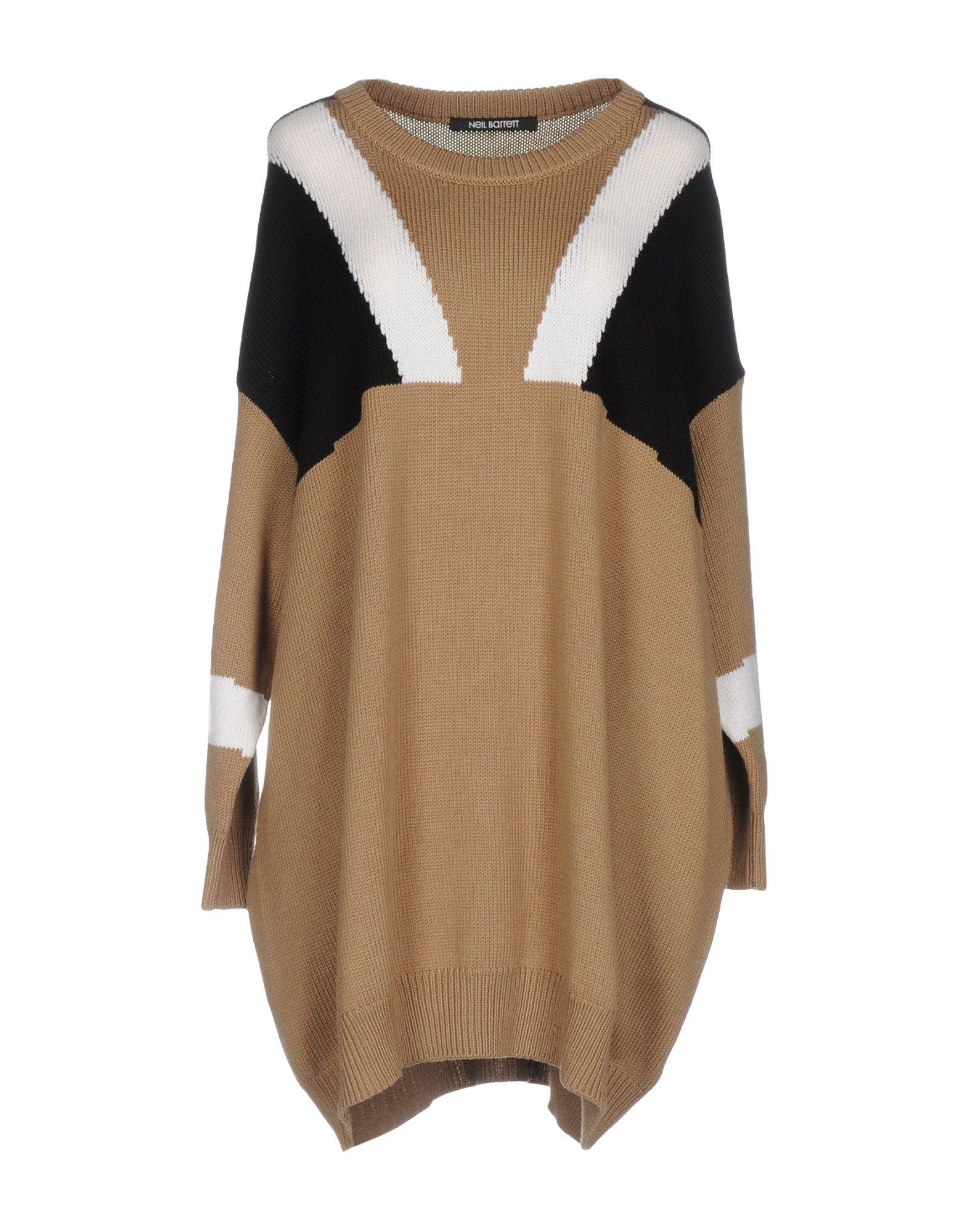 NEIL BARRETT Короткое платье цена 2017
