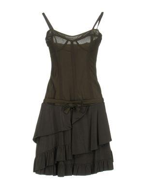 LIU •JO Damen Kurzes Kleid Farbe Militärgrün Größe 5