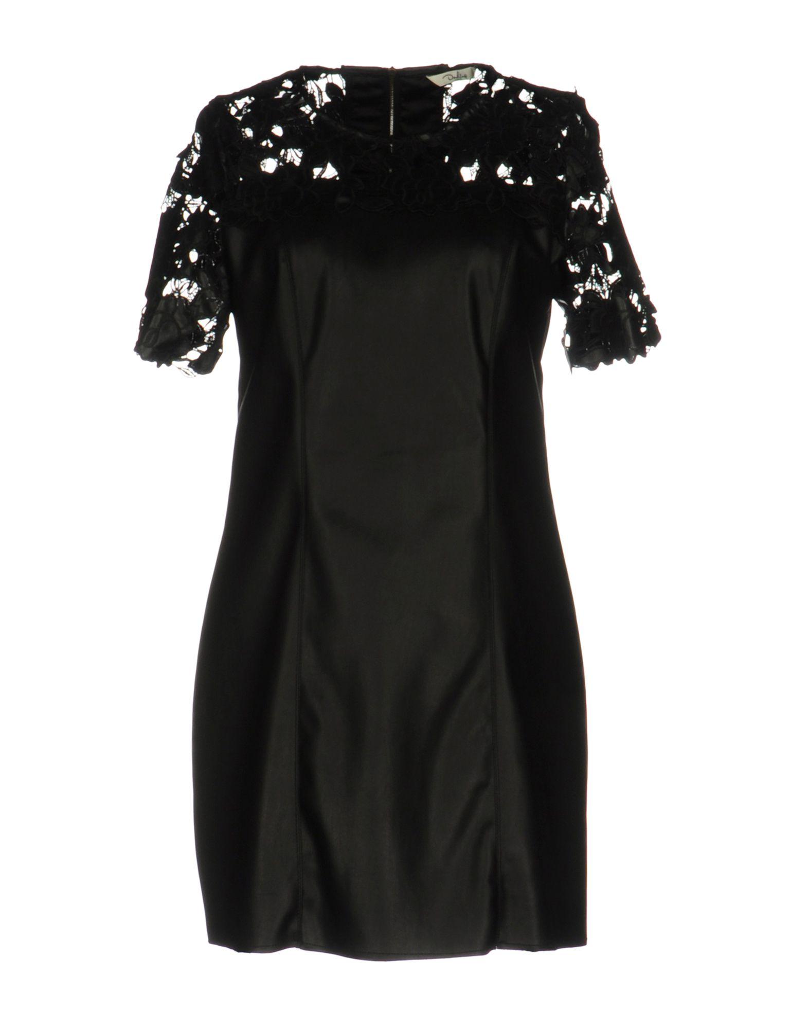 DARLING Damen Kurzes Kleid Farbe Schwarz Größe 5
