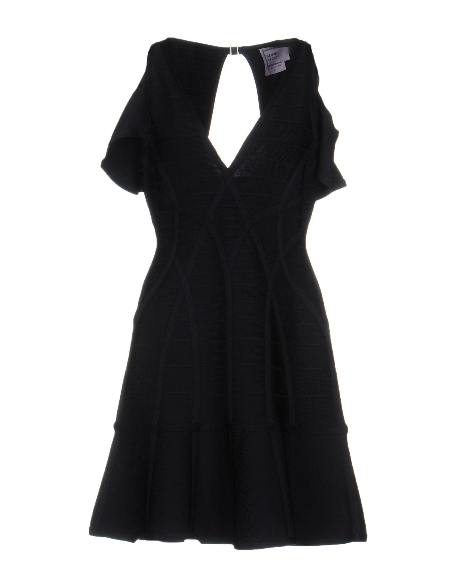 HERVÉ LÉGER BY MAX AZRIA Короткое платье max tonso короткое платье