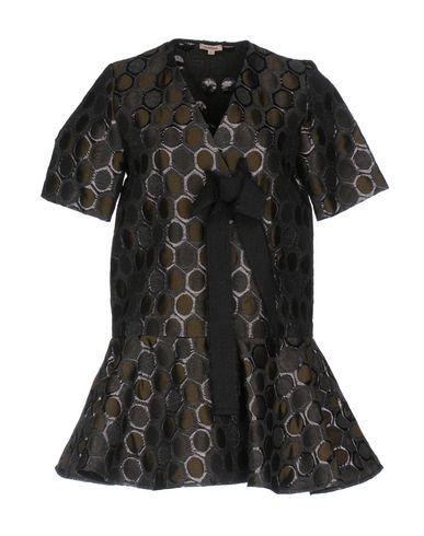 P.A.R.O.S.H. レディース ミニワンピース&ドレス ミリタリーグリーン M ポリエステル 66% / アクリル 24% / ウール 10%