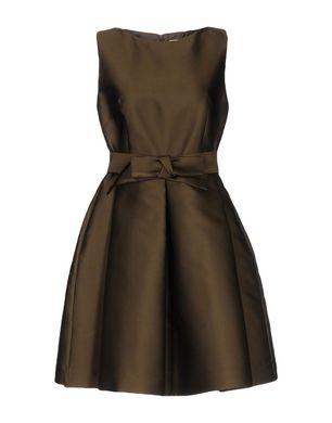 P.A.R.O.S.H. Damen Kurzes Kleid Farbe Militärgrün Größe 5 Sale Angebote Lutzketal