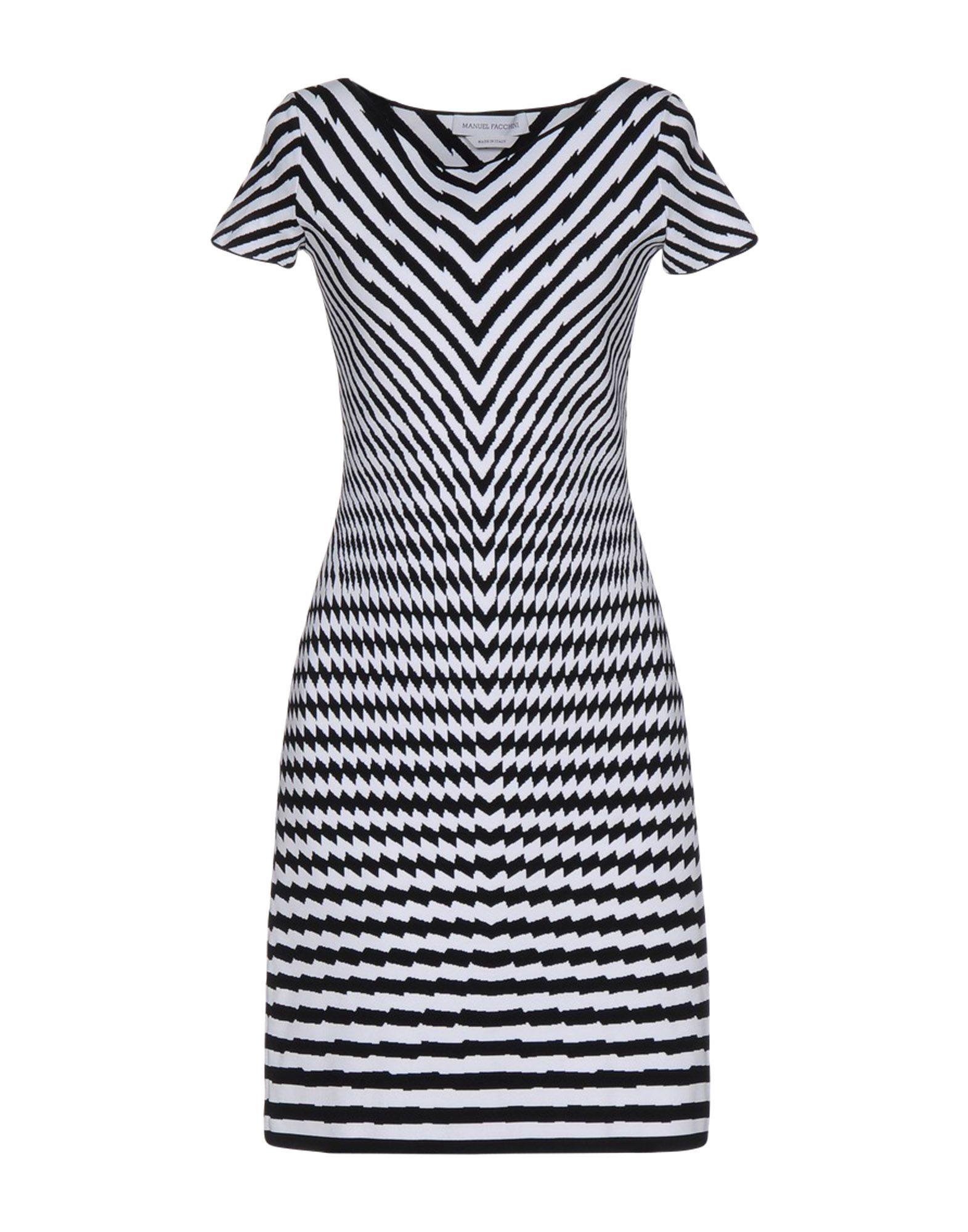 MANUEL FACCHINI Short Dresses in White