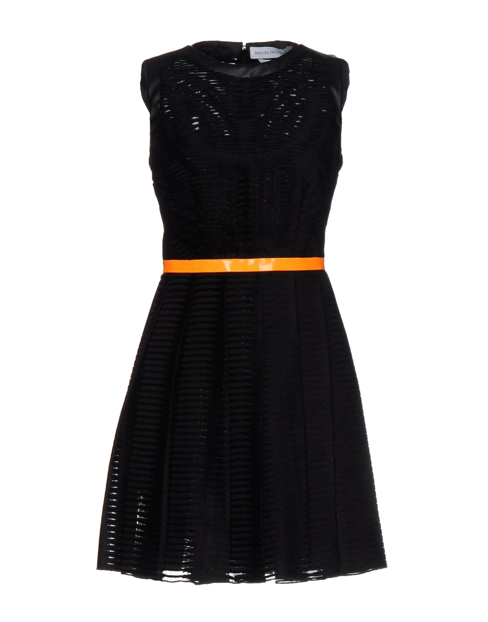 MANUEL FACCHINI Short Dresses in Black