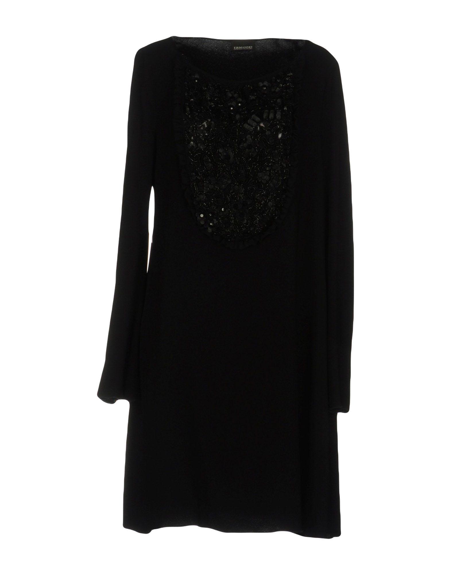 ermanno scervino однотонное платье ERMANNO DI ERMANNO SCERVINO Короткое платье