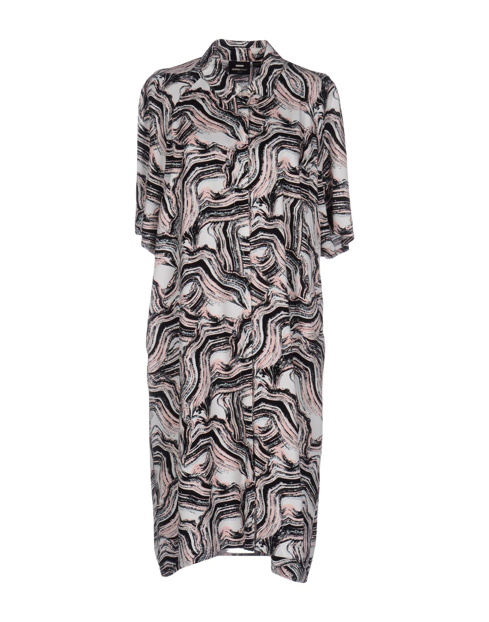 где купить  DR. DENIM JEANSMAKERS Короткое платье  по лучшей цене