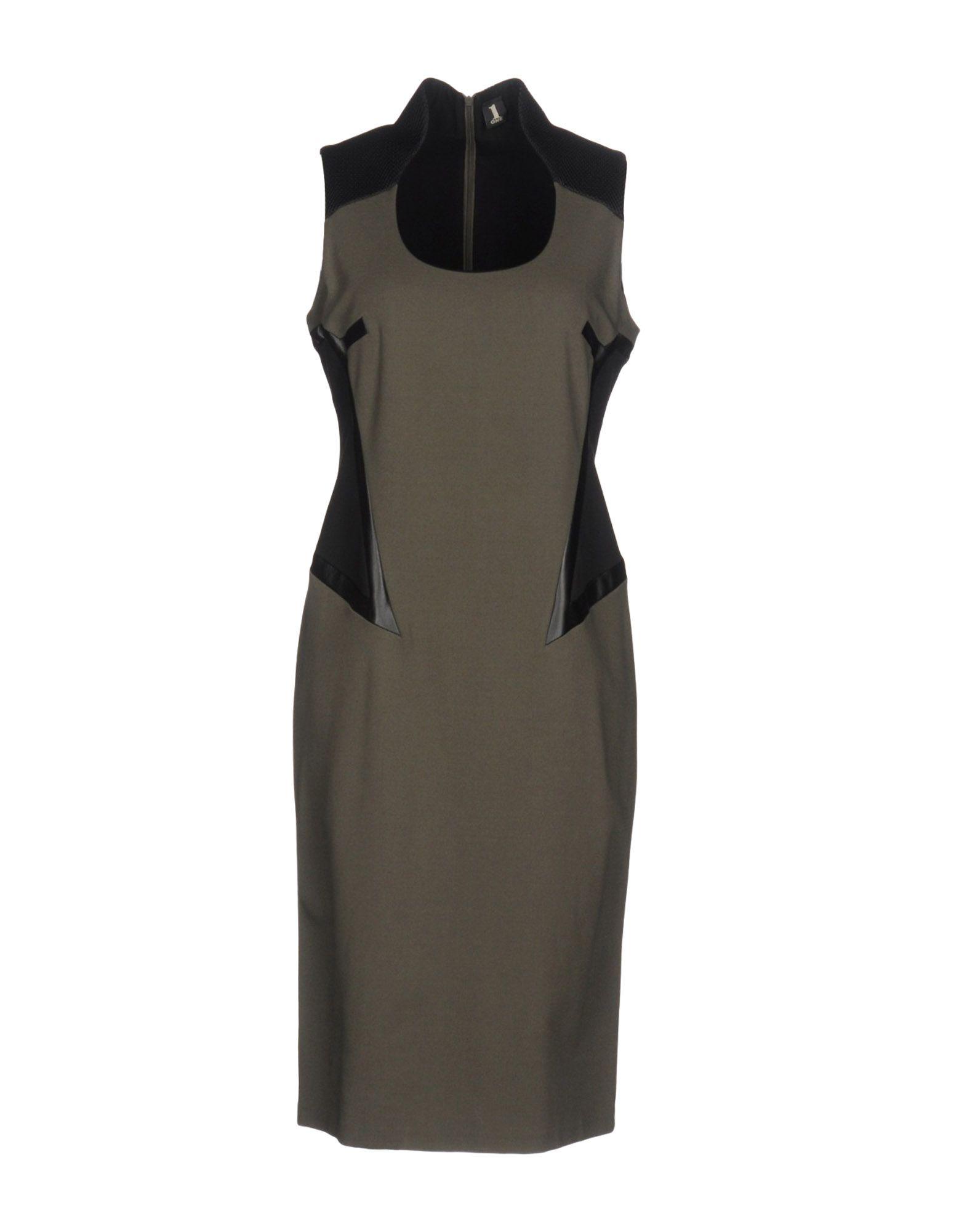купить 1-ONE Платье до колена по цене 7250 рублей