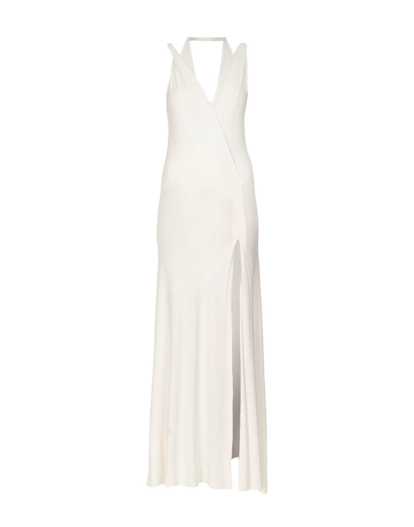 DONNA KARAN Длинное платье donna karan платье длиной 3 4
