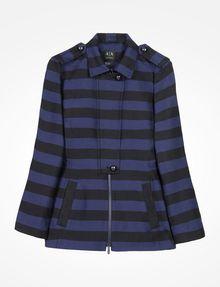 ARMANI EXCHANGE TONAL STRIPED MODERN JACKET Jacket Woman b