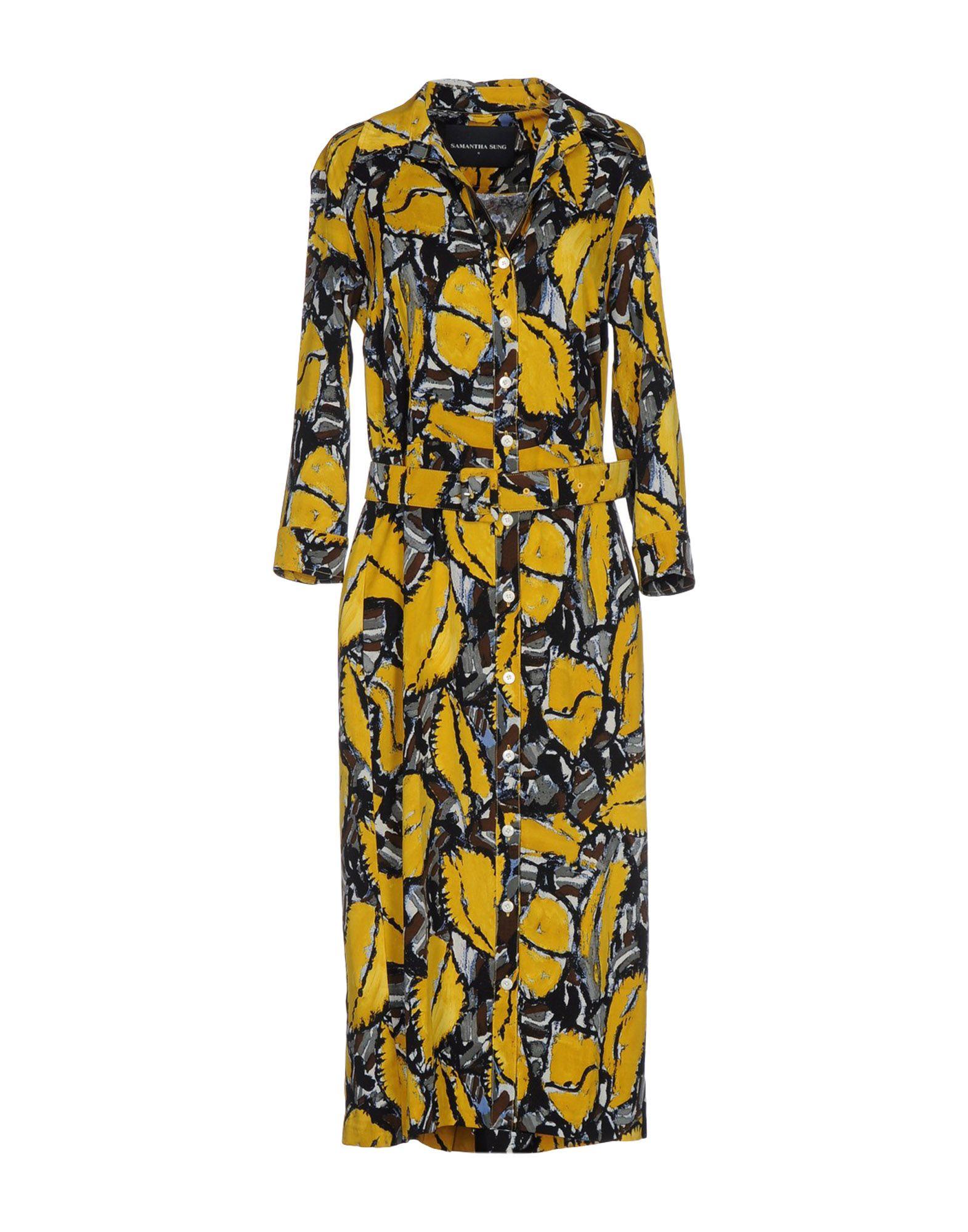SAMANTHA SUNG Платье длиной 3/4 lisa corti платье длиной 3 4