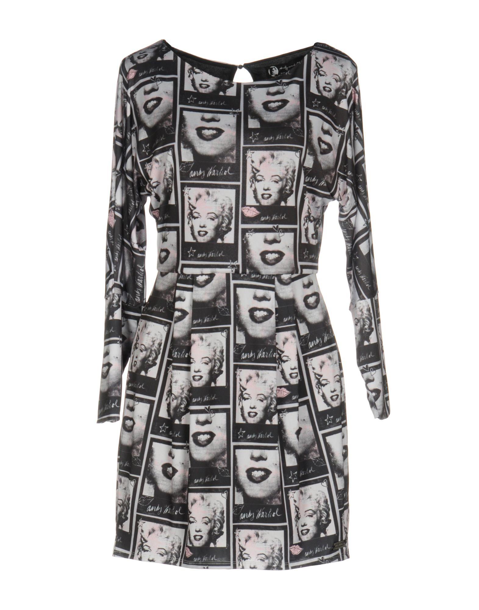 ANDY WARHOL by PEPE JEANS Короткое платье andy warhol by pepe jeans короткое платье