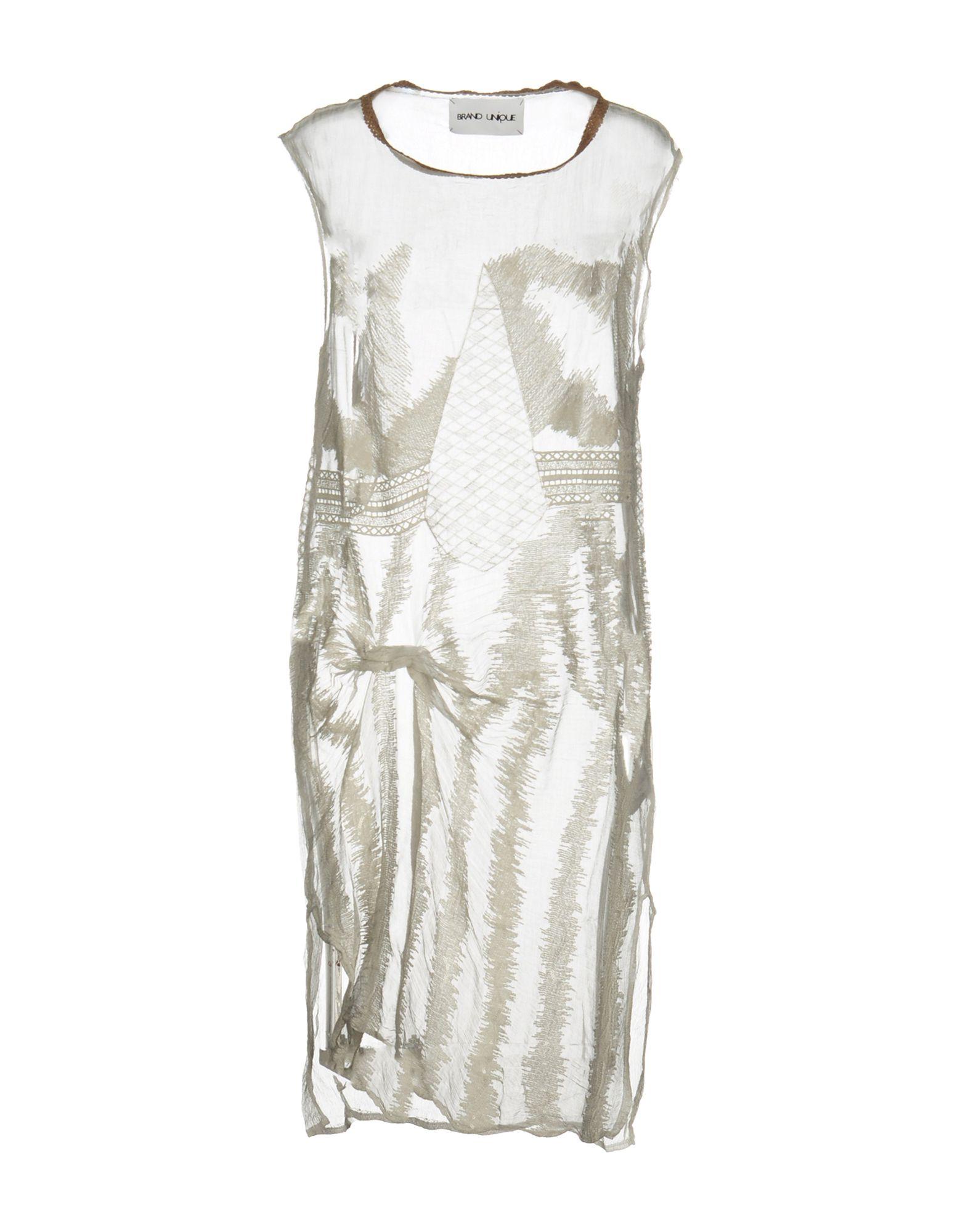 BRAND UNIQUE Платье до колена brand unique блузка