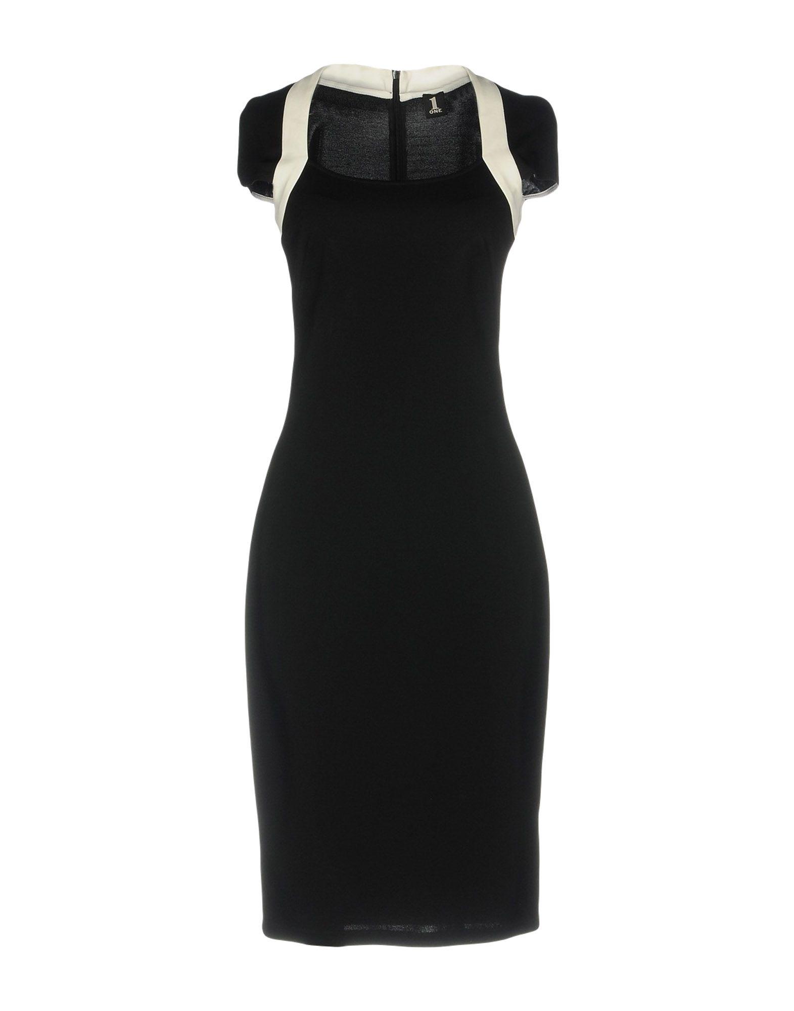 купить 1-ONE Платье до колена по цене 11700 рублей