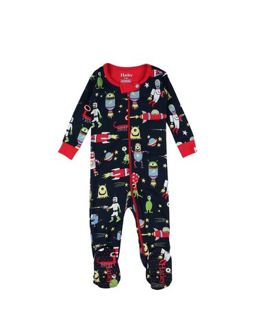 YOOX.COM(ユークス)HATLEY ボーイズ 0-24 ヶ月 乳幼児用ロンパース ダークブルー 9 オーガニックコットン 100%