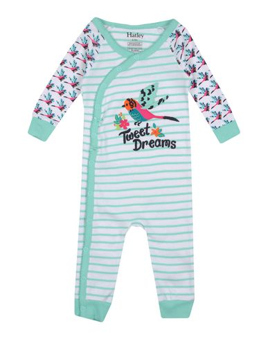 YOOX.COM(ユークス)HATLEY ガールズ 0-24 ヶ月 乳幼児用ロンパース ライトグリーン 6 オーガニックコットン 100%