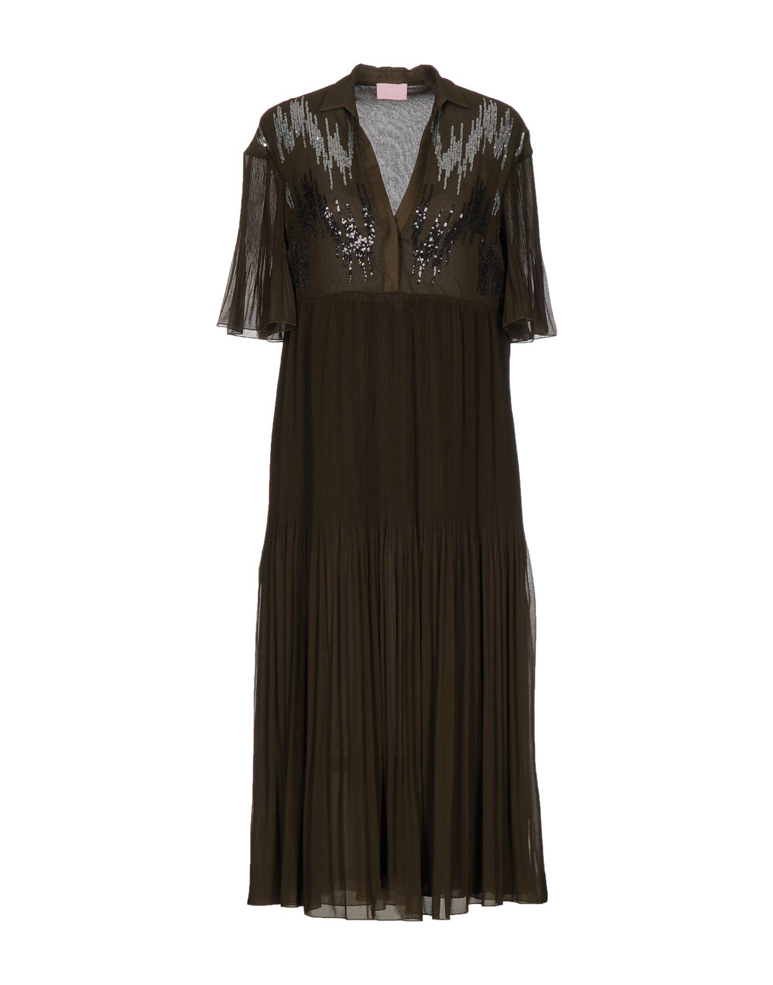 GIAMBA Платье до колена paolo casalini платье до колена