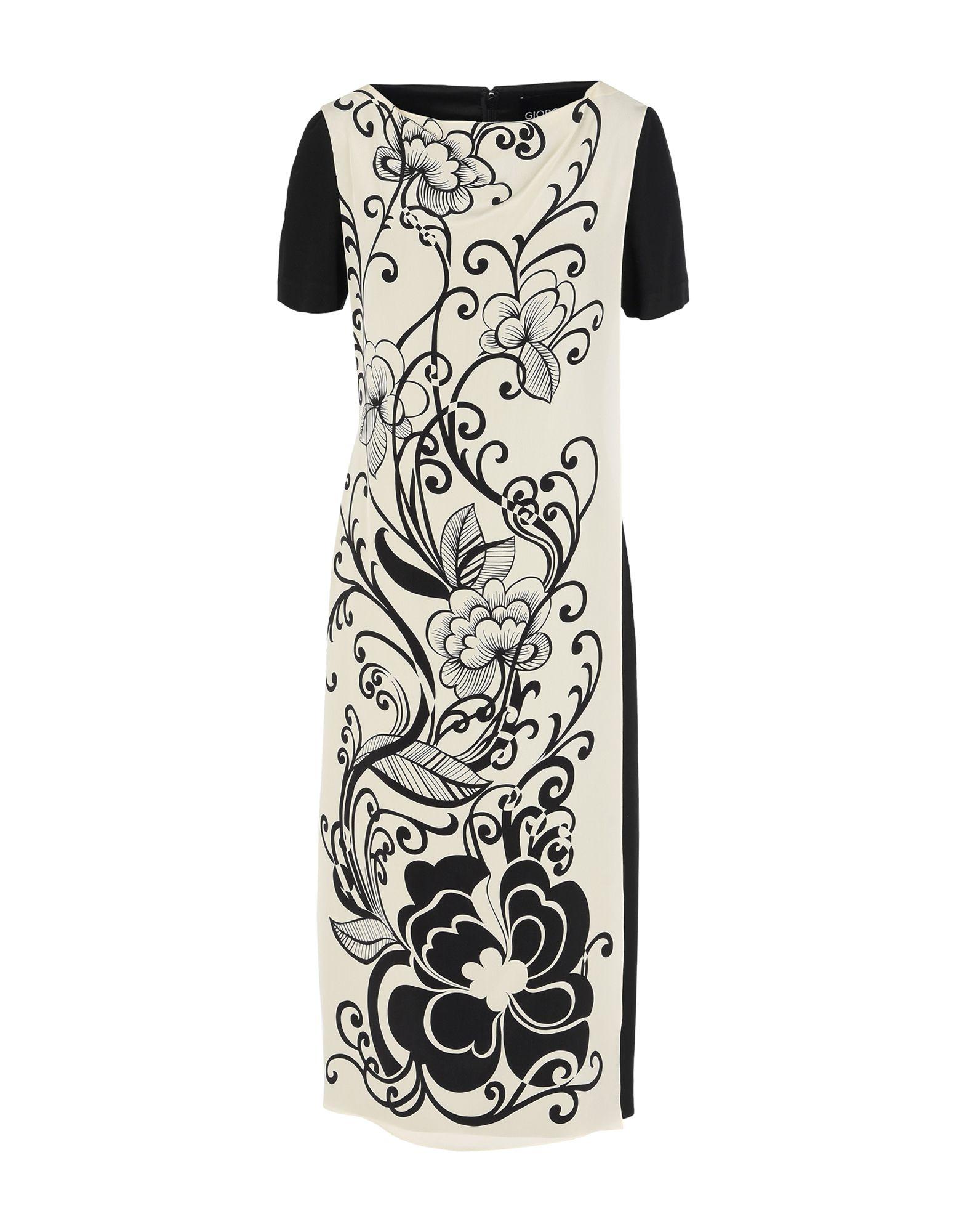 GIORGIO GRATI Платье длиной 3/4 giorgio grati юбка длиной 3 4