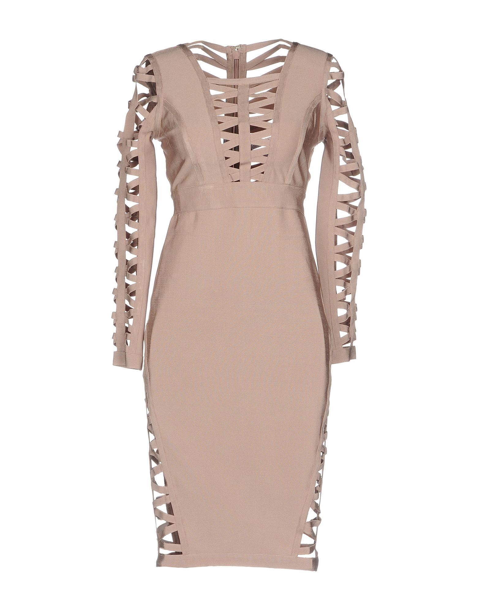 WOW COUTURE Knee-Length Dress in Pink