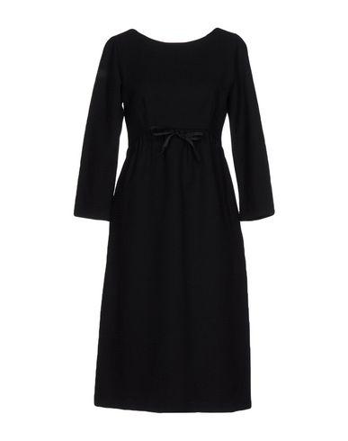 Купить Платье до колена от ZHELDA черного цвета