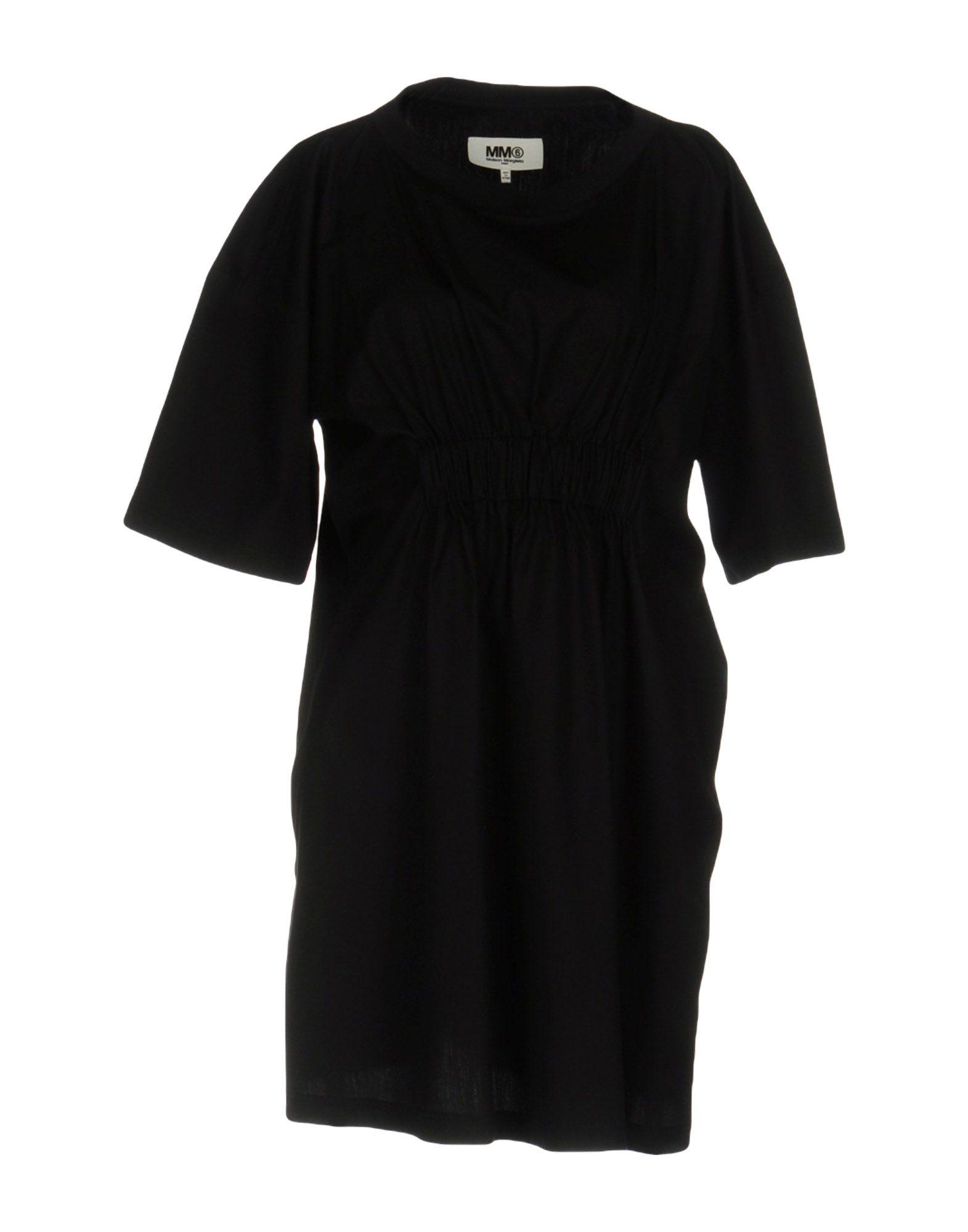 купить MM6 MAISON MARGIELA Короткое платье по цене 6700 рублей