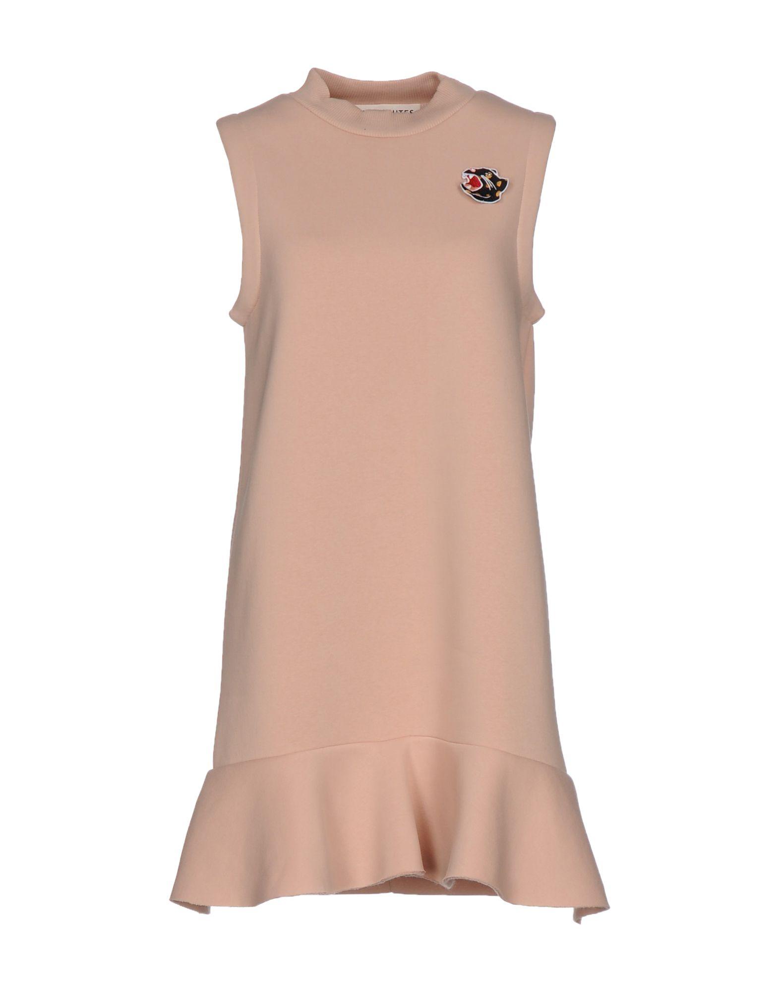 NINEMINUTES Короткое платье velvet короткое платье