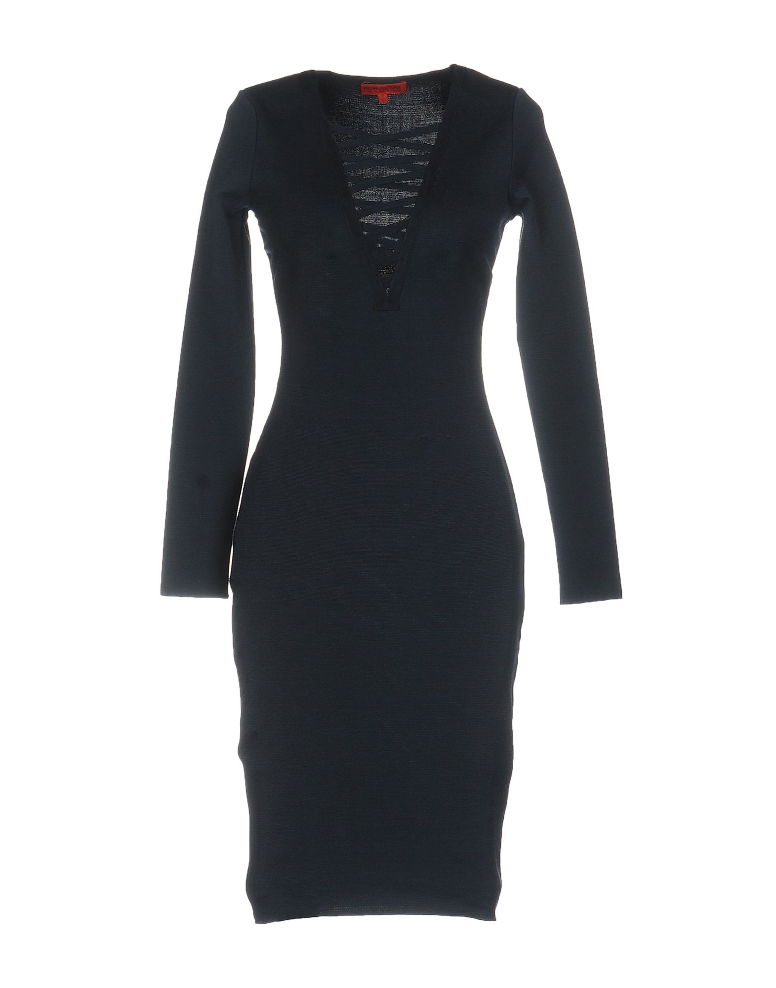 WOW COUTURE Knee-Length Dress in Dark Blue