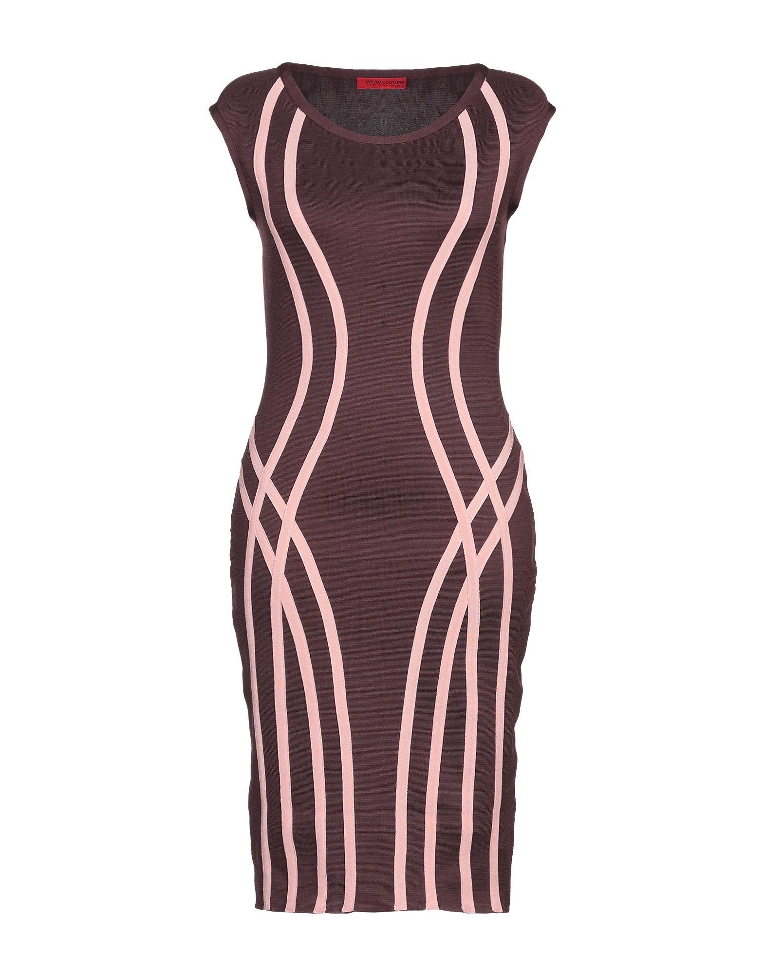 WOW COUTURE Платье до колена