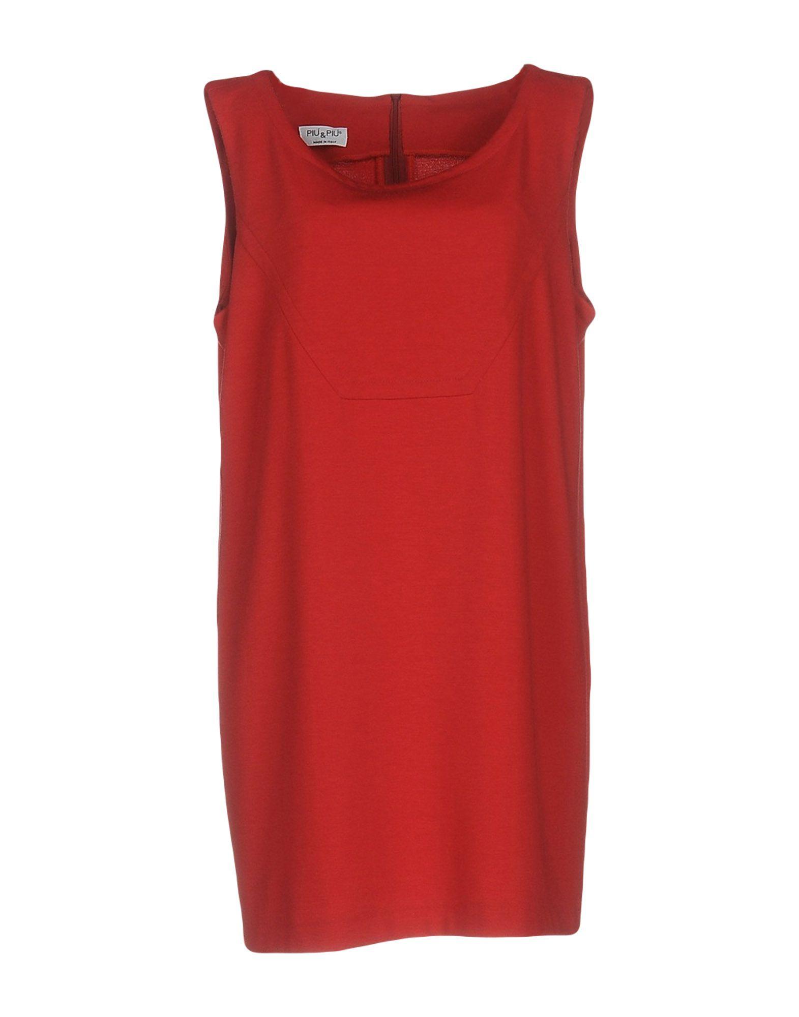 PIU' & PIU' Короткое платье sempre piu топ