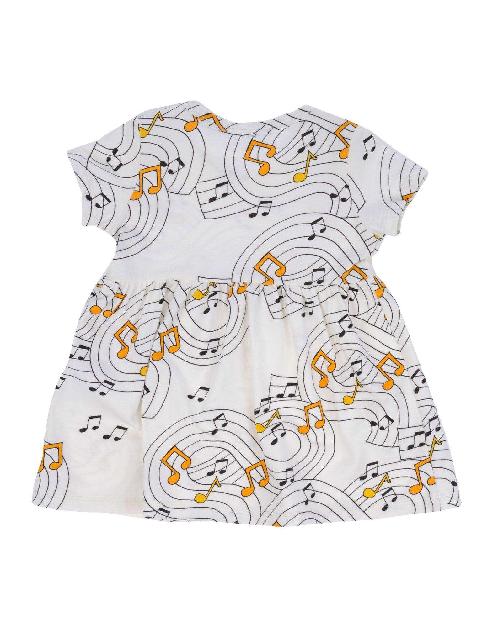 - MINI RODINI Mädchen 0-24 monate Kleid Farbe Elfenbein Größe 12, 34734031RU-12