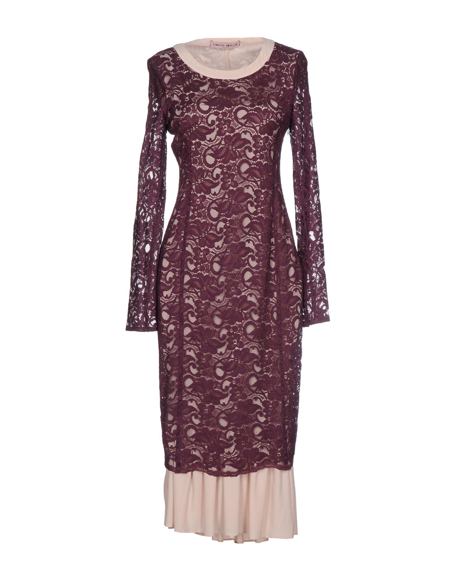 FRANKIE MORELLO Платье длиной 3/4 frankie morello длинное платье