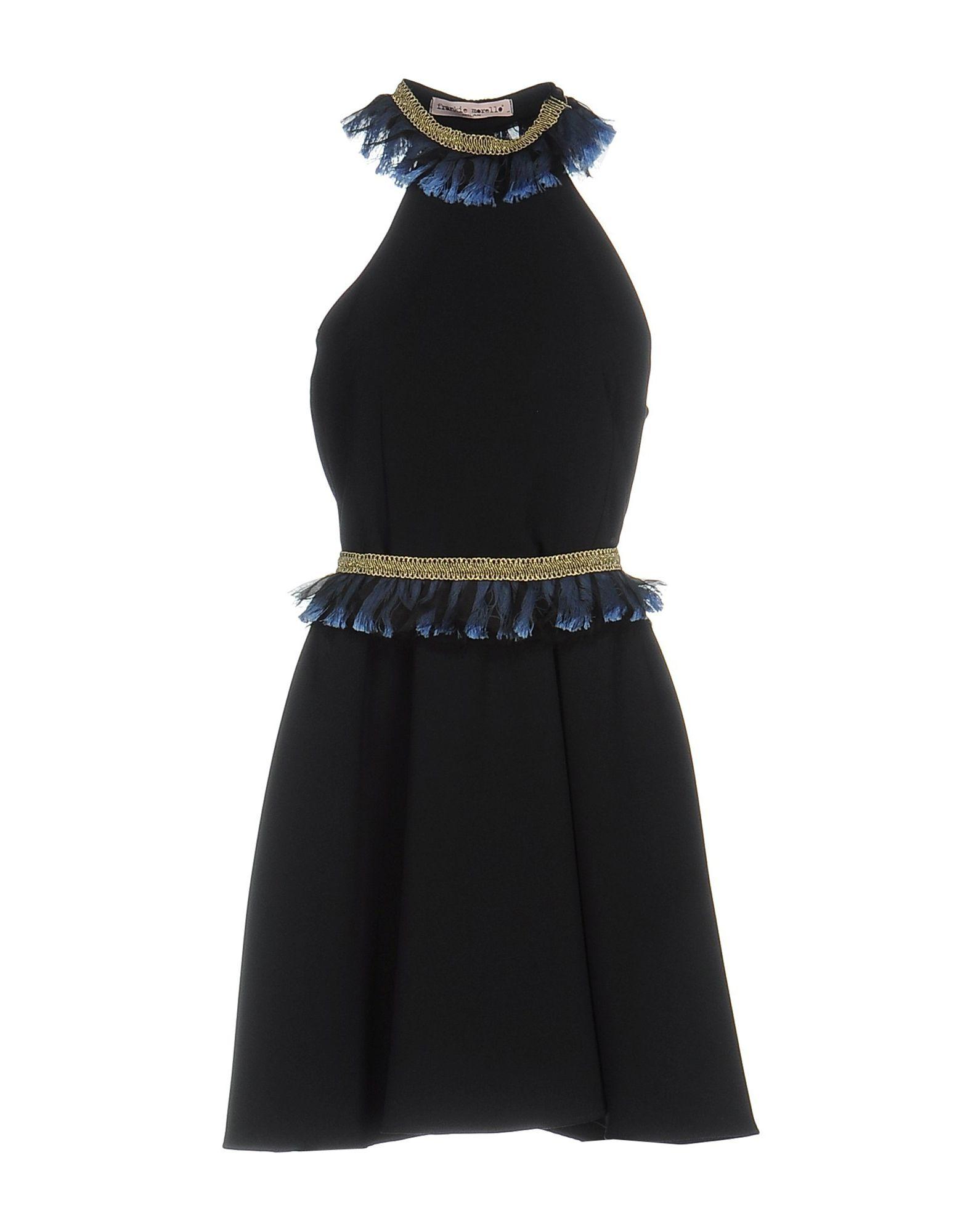 FRANKIE MORELLO Короткое платье frankie morello длинное платье