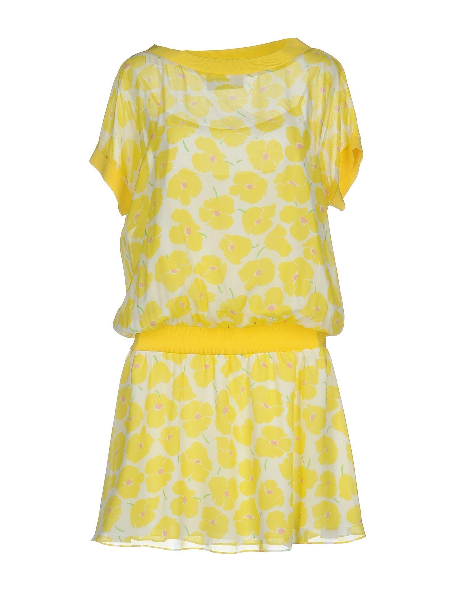 BOUTIQUE MOSCHINO Короткое платье anais gillian комбинация
