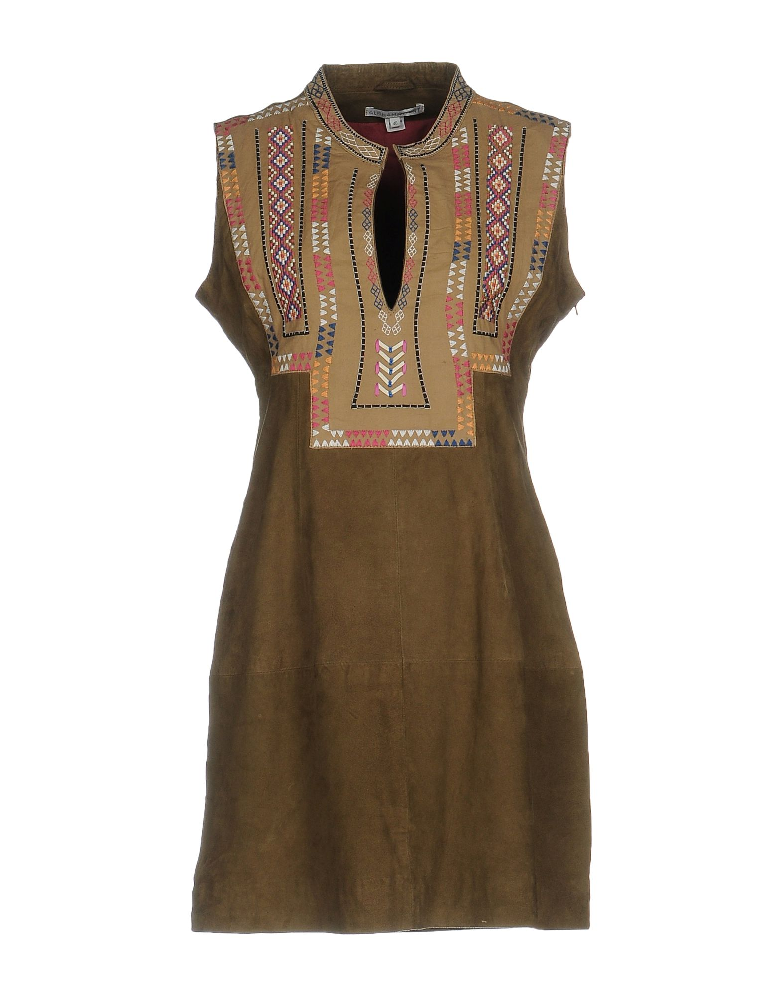 ALPHAMOMENT Короткое платье