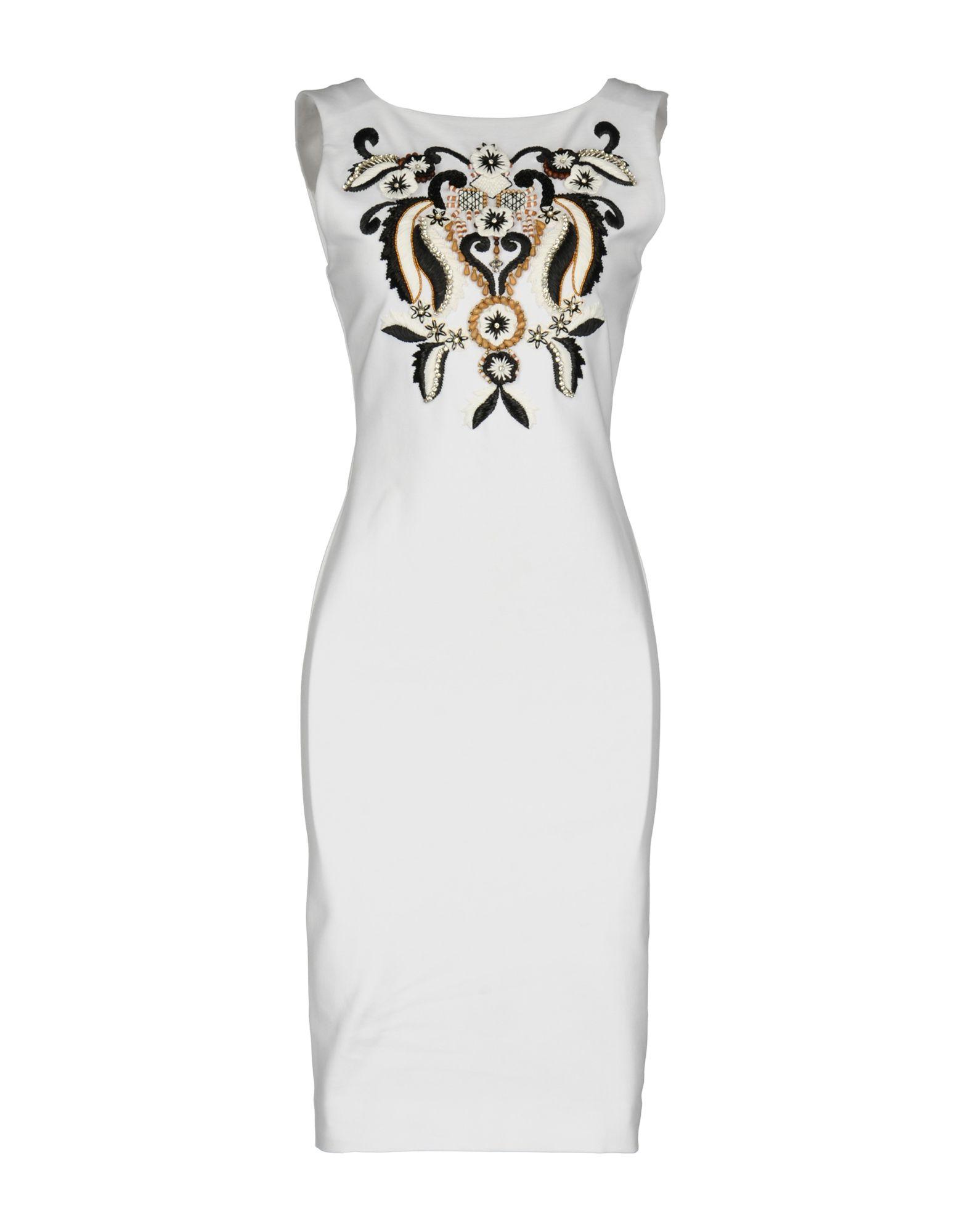 DSQUARED2 Короткое платье baxi khg переходной комплект для забора воздуха dn 80 eco luna nuvola slim