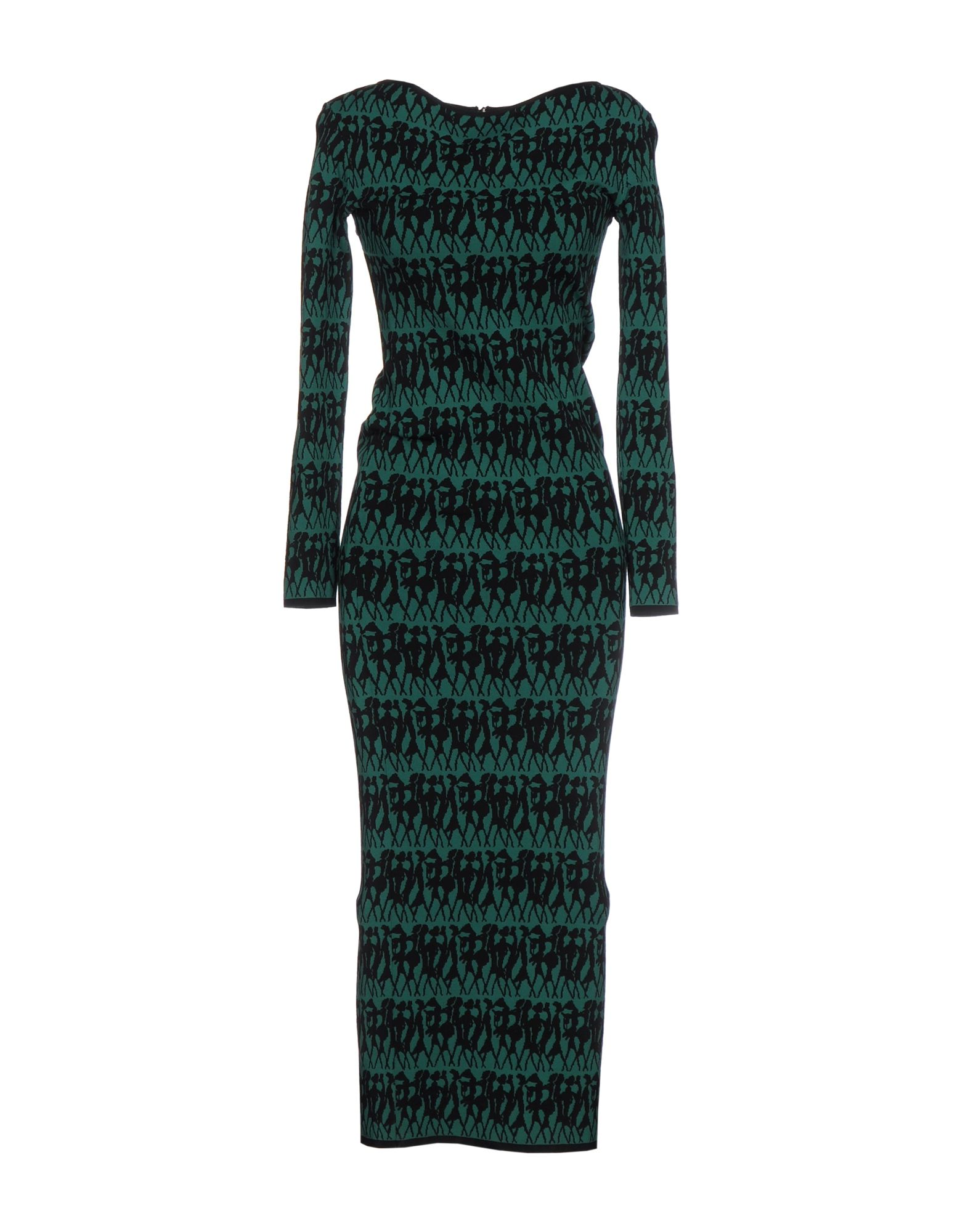 HERVE' L. LEROUX Платье длиной 3/4 a l c платье длиной 3 4